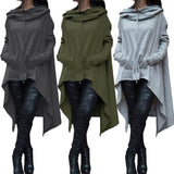 Casual Loose Top Women Long Sleeve Hoodie Sweatshirt Pullover Tops Hoodies  Autumn Jumper Coat - Style Lavish