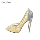 Bling High Heel Pumps - Style Lavish