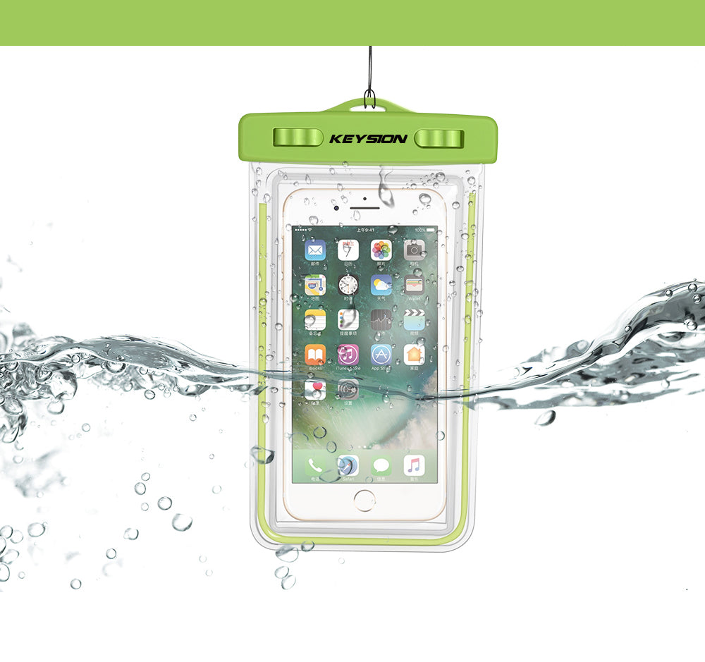 Waterproof Bag With Luminous Underwater Pouch Phone Case For iPhone X 8 8 Plus 7 7P 6 6s  For Samsung Galaxy S8 S7 Note8