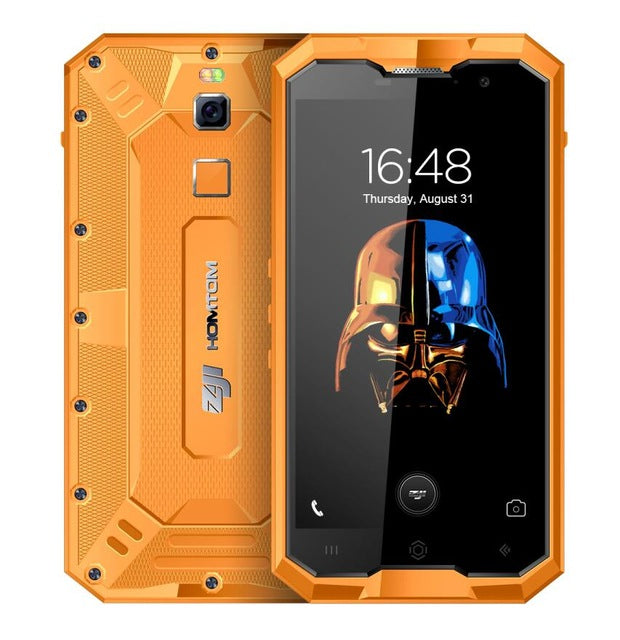 "HOMTOM ZOJI Z8 IP68 Waterproof Smartphone 4G 4GB+64GB 5.0"" MTK6750 Octa Core Android 7.0 4250mAh 16MP+13MP Cam OTG Mobile Phone"