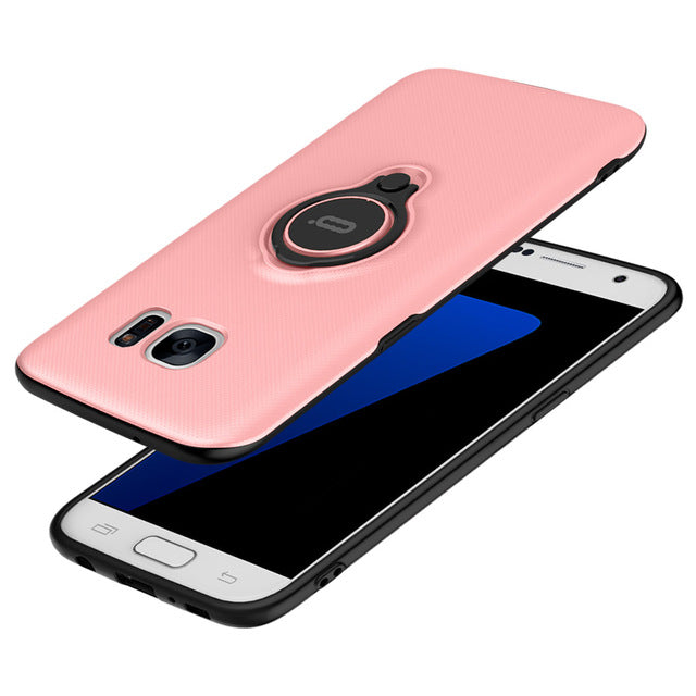 For Samsung S7 Case Anti-Knock Plastic Phone Protective Samsung Galaxy S7 edge Case