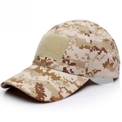 6 Patterns for Choice Snapback Camouflage Tactical Hat Patch Army Tactical Baseball Cap Unisex ACU CP Desert Camo Hats For Men Women - Style Lavish