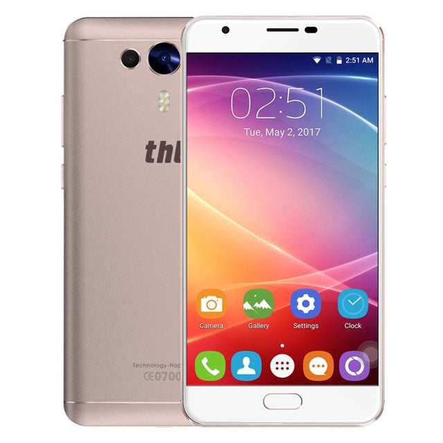THL Knight 1 MTK6750T Octa Core 1.5GHz Smartphone 5.5'' Android 7.0 Mobile 3GB RAM 32GB ROM 3100mAh 4G Cell Phone 13.0MP OTG FM
