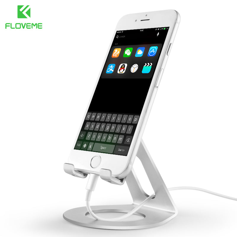 Phone Holder For iPhone 7 8 X Universal Mobile Phone Stand For Samsung Xiaomi Smartphone Tablet iPad Luxury Desk Holder