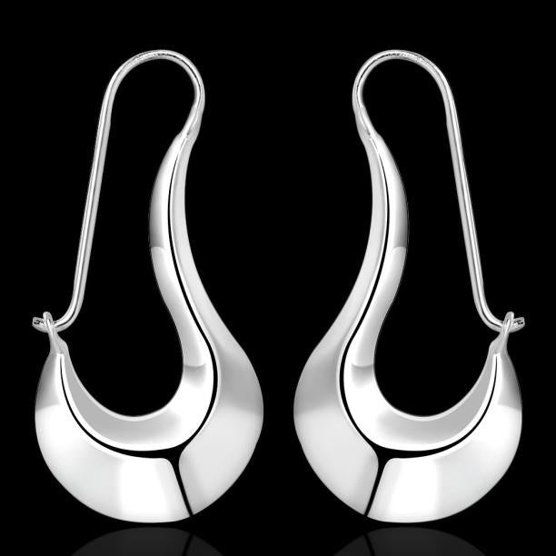 1 Pair Beautiful Elegant Jewelry Unique Simple Dangle Earrings - Style Lavish