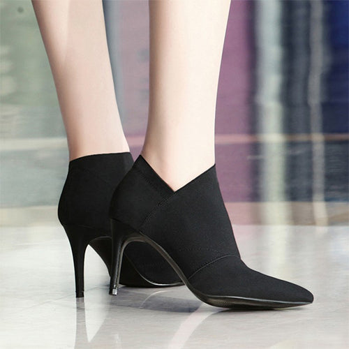 Women Pointed Toe High Heels Shoes