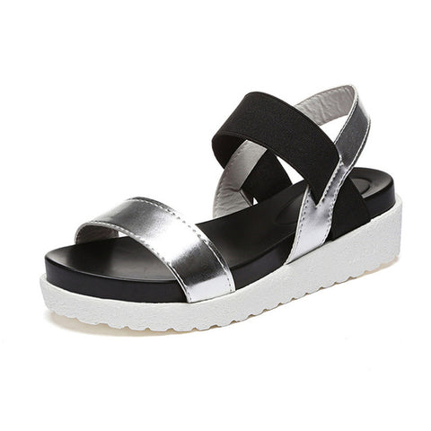 Robe Thick Platform Buckle Sandals