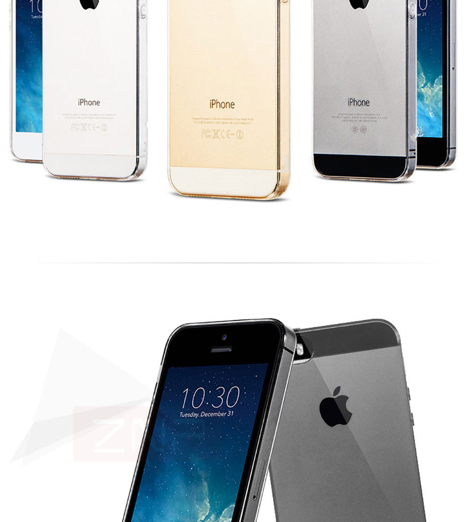 Znp Ultra Thin Soft Transparent Tpu Case For Iphone 5 5s Se Clear Sili Baseus Sky Silicone Cover