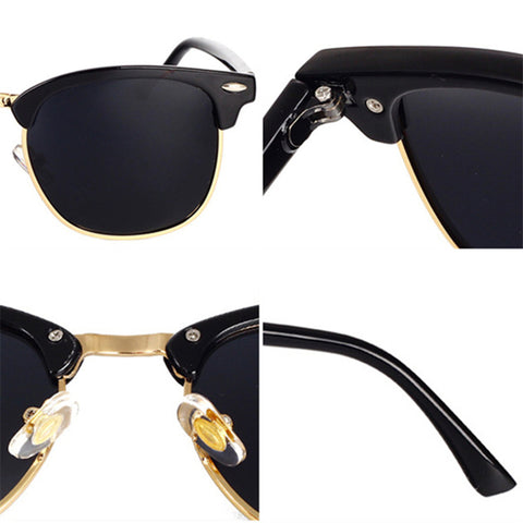 Classic Polarized Sunglasses Men Women Retro Brand Designer High Quality Sun Glasses Female Male Fashion Mirror Sunglass - Style Lavish