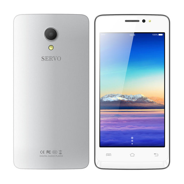 Original Phone SERVO W680 4.5 inch MTK6580M Quad Core 1.3GHz Android 7.0 cellphone ROM 4GB Camera 5.0MP GPS WCDMA Mobile Phones