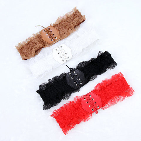 82a8c73106f Belt Women Lace Elastic Wide Waist Belts Summer Dress Women s Accessories  Pu Leather Girdle Bands -. Black