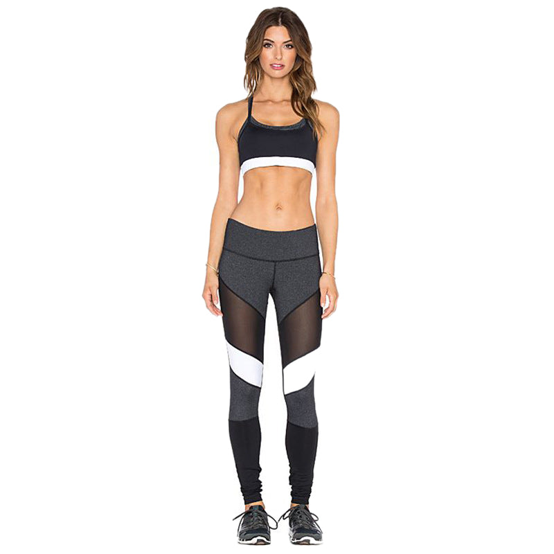 Women's New Fashion Pants Fitness Tights wear Compression Pants High Elasticity Workout Trous