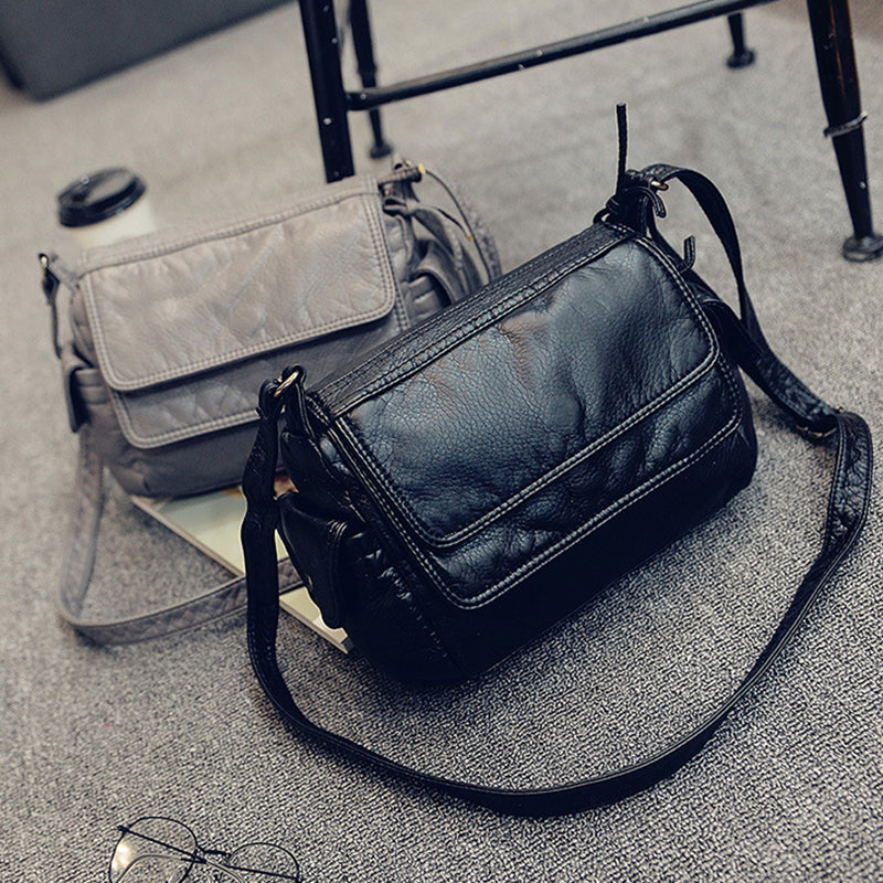Fashion Women's Small Handbag Casual Shoulder Messenger Small Bag Female handbag black/gray Sac a Main Femme Female Clutch - Style Lavish