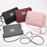 Small Women Bag PU Leather Crossbody Bag Sling Shoulder Messenger Bag Lady Clutch Purses