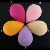 100Pcs/lot Makeup Foundation Latex sponge Cosmetic Puff Blender Blending Beauty Makeup Sponge Powder  Puff Flawless Makeup tools - Style Lavish