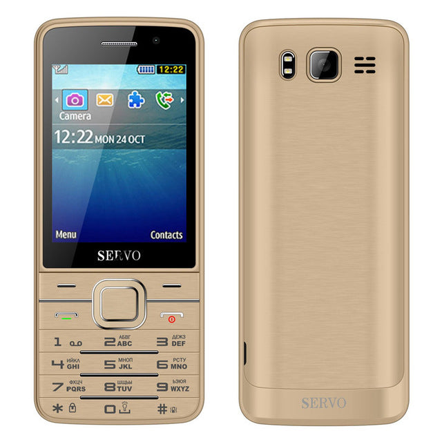 Original SERVO V9500 9500 Phone With Quad SIM 4 SIM card 4 standby Bluetooth Flashlight 2.8inch Cheap Cell Phone