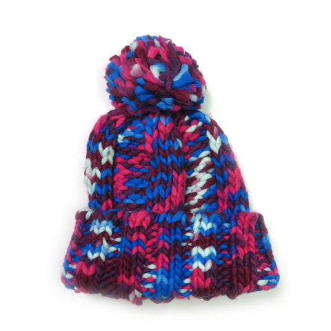 Knitted Hat For Women Pompom Ball Cute Beanies Warm Pompon Ball Hat Cap Winter Autumn Bobble Hats