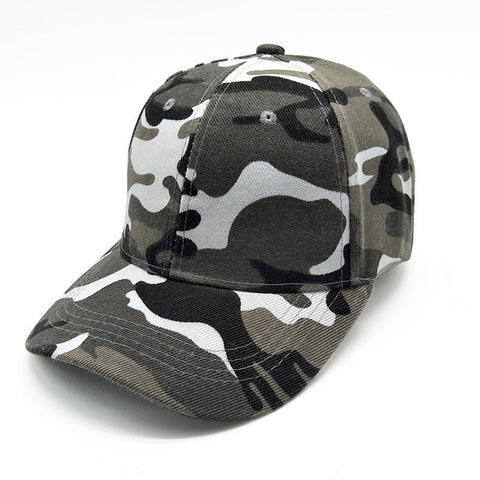 Camouflage Hats For Men Women Cotton Camo Baseball Cap Outdoor Climbing Hunting Camo Hats Army Camo Snapback - Style Lavish
