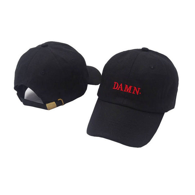 DAMN Trucker Cap Kendrick Lamar Baseball Cap Embroidered Snapback Dad Hat  for Men Women Adjustable Hip ... 993595a0dc2a