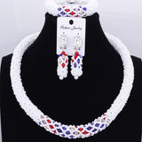 Women Necklace Jewelry Sets of Beads Handmade