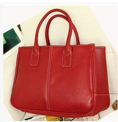 Women Bag Fashion PU Leather Handbags Top-Handle Bags Tote Shoulder Messenger Bag