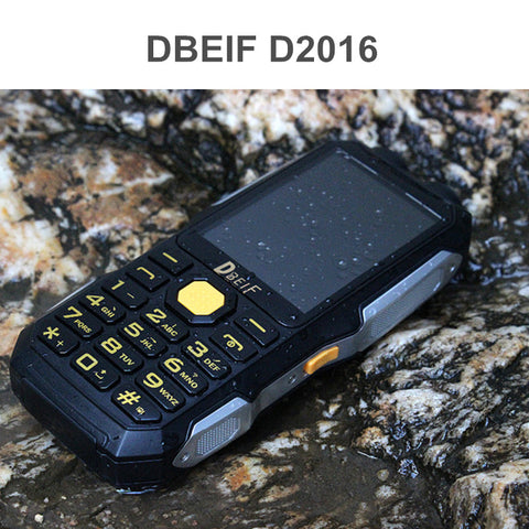 Original DBEIF D2016 Power Bank TV FM Dual Flashlight Mobile Phone Russian Keyboard Gsm Phone China Cell Phones Cellular Phones