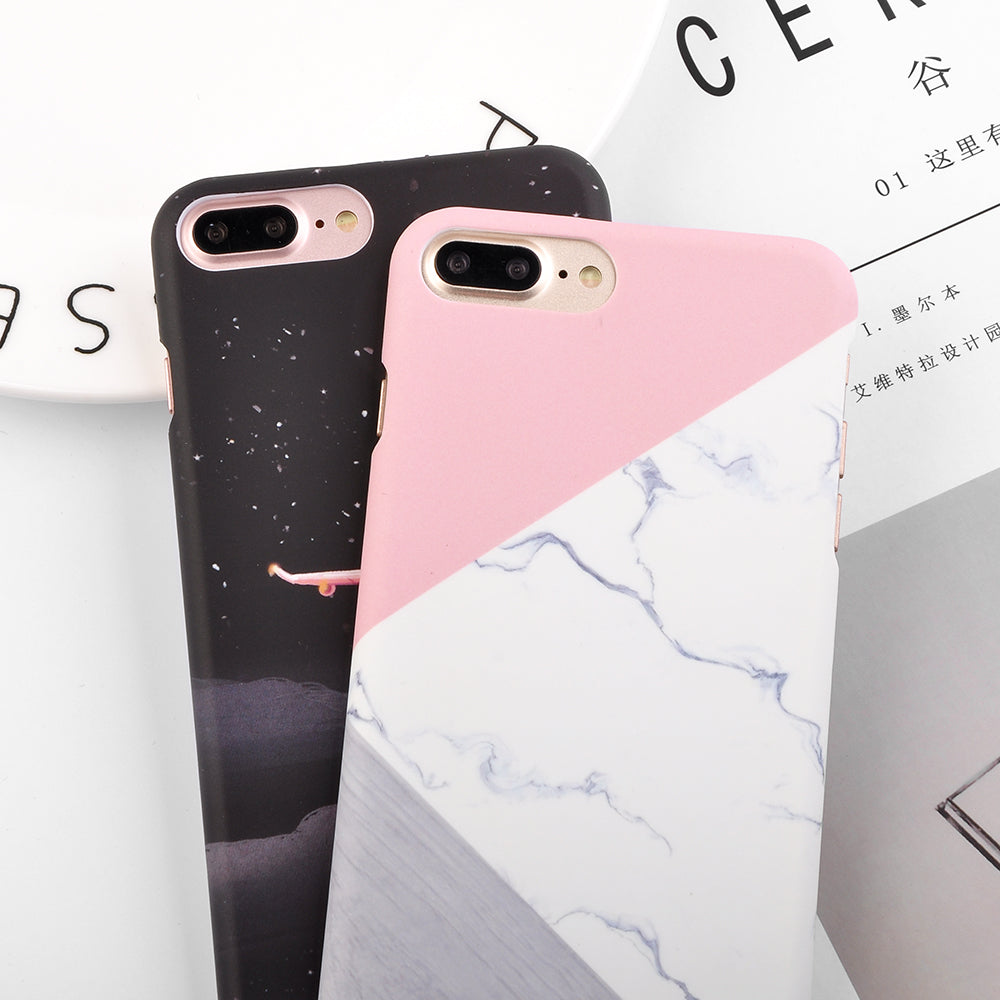 Granite Scrub Marble Phone Cases For Iphone 6 6s 7 Plus 5 5s Se 3d Air Baseus Sky Case Aircraft