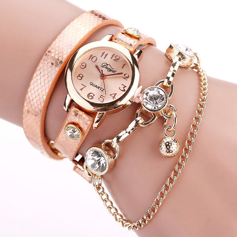 Watches Bracelet Watch Women Wrist Watches Fashion Luxury Bead Pendant Women Wristwatches