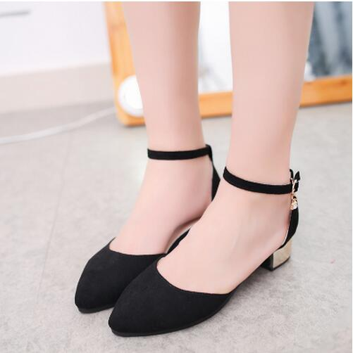 Pointed Toe High Heels Boat Shoes