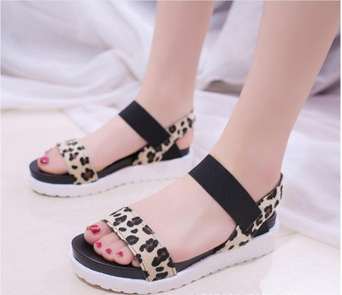 Summer Sandals For Women Shoes Peep-toe Flat Shoes Roman Sandals Shoes Woman Flip Flops Footwear