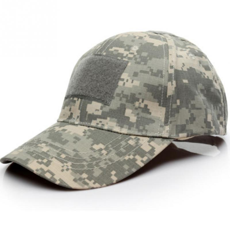 ... 6 Patterns for Choice Snapback Camouflage Tactical Hat Patch Army  Tactical Baseball Cap Unisex ACU CP ... 5b08a2d619