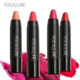 FOCALLURE 19 Colors Matte Lipsticks Waterproof Matte Lipstick Lip Cosmetic Easy to Wear Lipstick Matte Batom Nude Makeup Lips