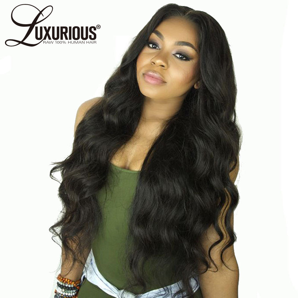 Body Wave Lace Front Human Hair Wigs For Women Pre Plucked Hairline With Baby Hair 8-26Inch Brazilian Remy Hair Bleached Knots - Style Lavish