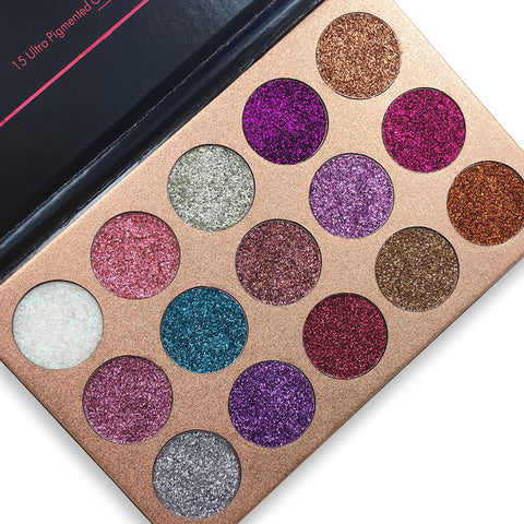 BEAUTY GLAZED Glitter Eye shadow  Palette Make up Eye Shadow palette Long-lasting Easy To Wear Eye shadow Matte Shimmer - Style Lavish