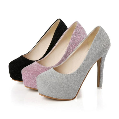 Spring Summer Shoes Korean Version Of The Ultra-High With A Single Shoe  Waterproof  Fine With Inner Woman Shoes