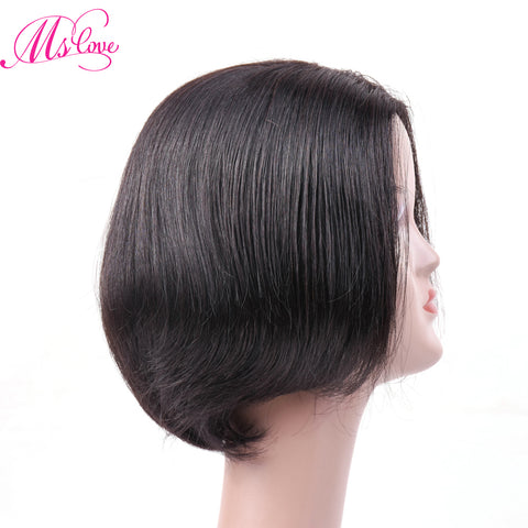 Short Bob Human Hair Wigs For Women Straight Human Hair Wigs Non Lace Brazilian Remy Hair Wigs