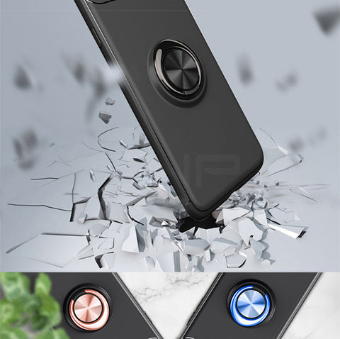 Luxury Car Bracket Ring Magnetic TPU Protective Case For iPhone 6 6s Plus 8 7 Plus Cover For iPhone X 5 5S SE 10 Shell Cases