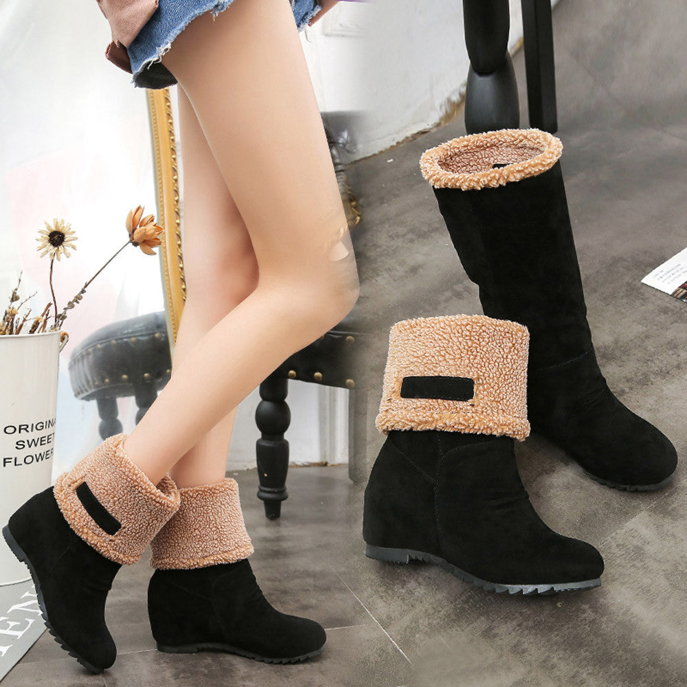 Women's Snow Boots Winter Ankle Boots
