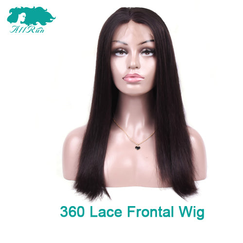Hair Extensions & Wigs Fast Deliver Allrun Indian Ocean Wave Human Hair Wigs With Adjustable Bangs Human Hair Wigs Non Remy Hair Wigs Full Machine Natural Color