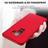 360 Full Protective Phone Case For Samsung Galaxy S10 S9 S8 Plus S7 Edge Cover Case For Galaxy Note 9 8 S10E S9 With Glass