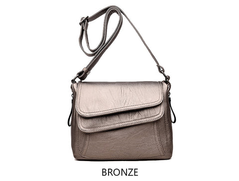 8 Colors Leather Luxury Handbags Women Designer Messenger Bags Woman Summer Bags