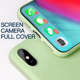 For Samsung Galaxy S8 S9 S10 Plus S10E S7 Edge Soft Skin Liquid Silicone Summer Case for Note 8 9 10 M10 M20 M30 A10 A50 Cover