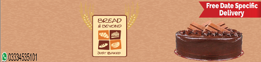 Send Bread & Beyond Cakes to Lahore, Pakistan