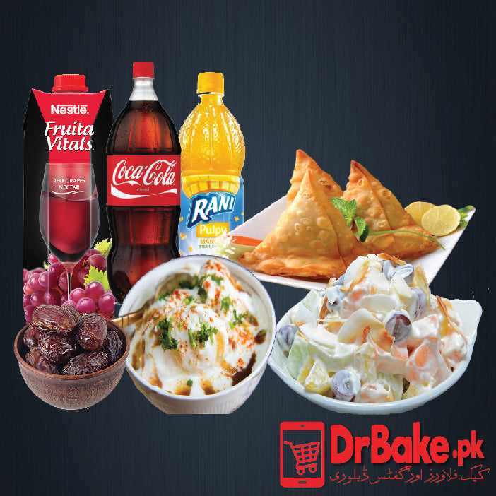 Send Iftar Deal for 3 Person to Pakistan | DrBake.pk