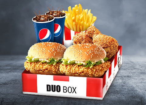 Send KFC Extreme Box To Pakistan | DrBake.pk