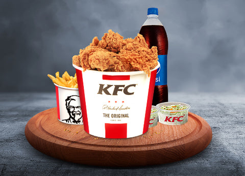 KFC's Family Bucket - Dr Bake Pakistan Send gifts to Lahore, Karachi, Islamabad, Pakistan