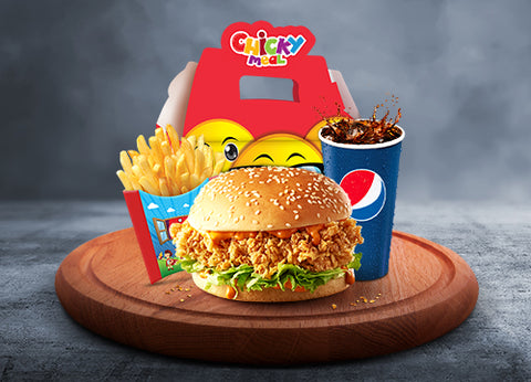 Send KFC Chicky Meal To Pakistan | DrBake.pk