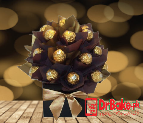 Ferrero Rocher in Gift Box - Dr Bake Pakistan Send gifts to Lahore, Karachi, Islamabad, Pakistan
