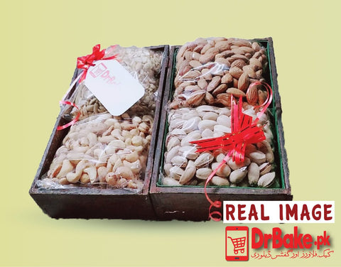 1kg Mix Dry Fruits Tray - Dr Bake Pakistan Send gifts to Lahore, Karachi, Islamabad, Pakistan