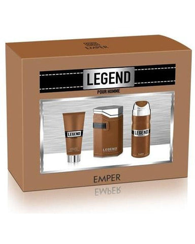 Send Legend Brown Gift Set For Men (Only For Lahore) to Pakistan With DrBake.pk